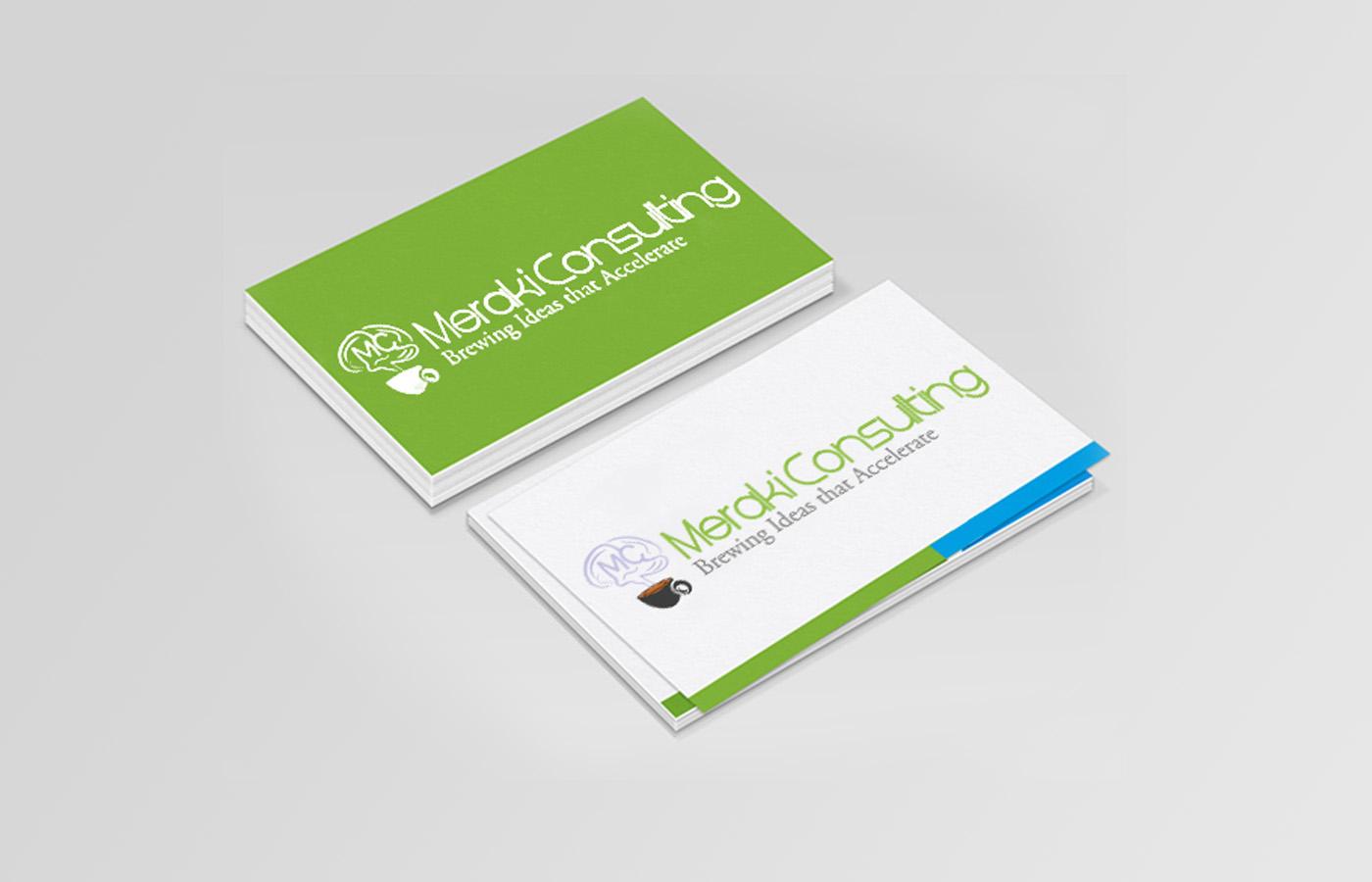 meraki-consulting-business-card - Designing Fever Gallery